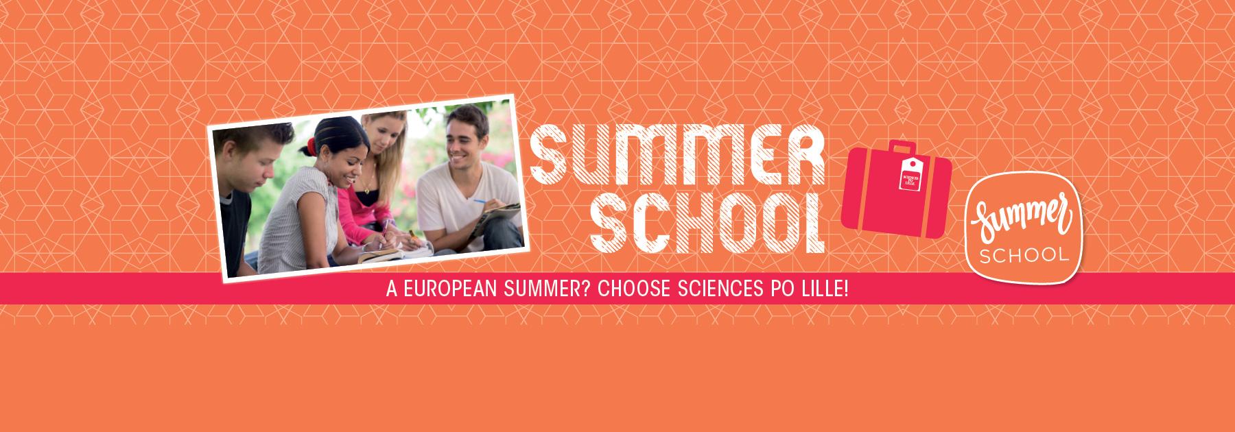 A European Summer ? Choose Sciences Po Lille !
