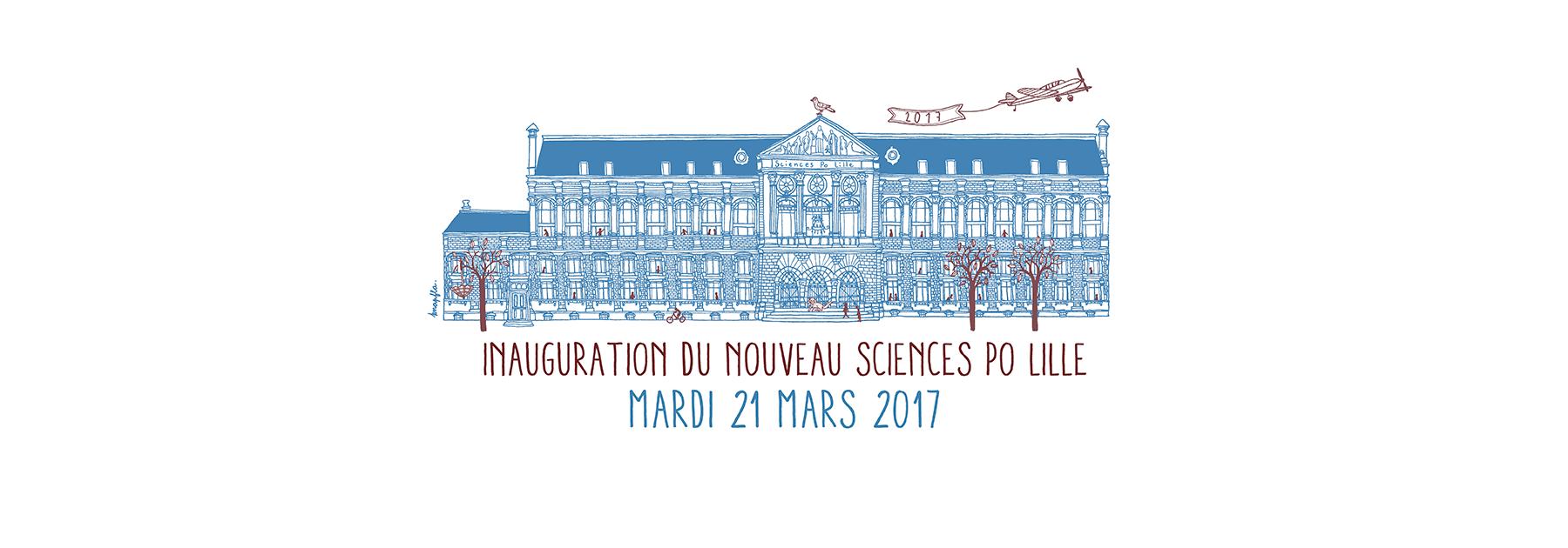 Inauguration du nouveau Sciences Po Lille