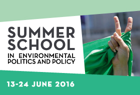 ECPR Summer School in Environmental Politics and Policy