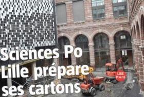 Déménagement rue Angellier : Sciences Po Lille prend son quartier